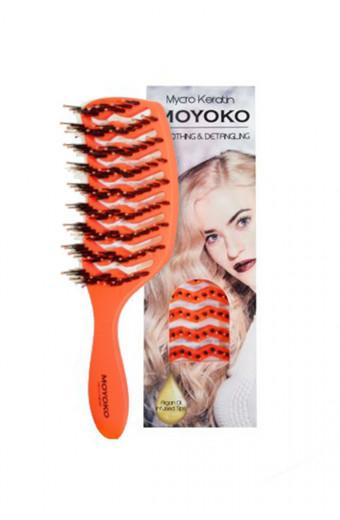 Mycro Keratin Moyoko Brush - Orange