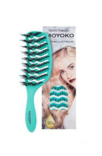 Mycro Keratin Moyoko Brush - Turquoise