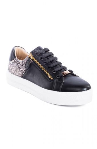 SAINT&SUMMER Ebony Sneaker - Black
