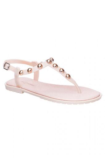 SAINT&SUMMER Luxe Jelly Sandal - Nude