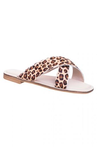 SAINT&SUMMER Lacy Sandal - Leopard