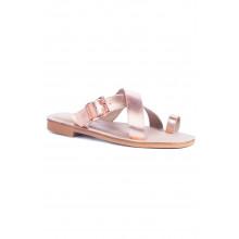SAINT&SUMMER Lexie Sandal - Rose Gold