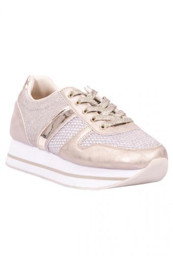 SAINT&SUMMER Echo Sneaker - Gold