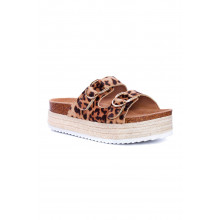 SAINT&SUMMER Lavish Espadrille - Animal Print