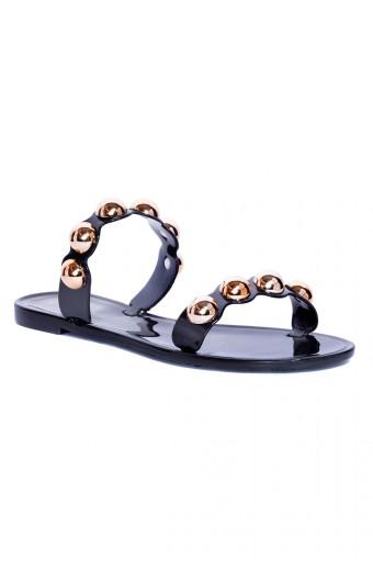 SAINT&SUMMER Lust Sandal - Black