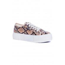 SAINT&SUMMER Sneaky Sneaker - Snake Print