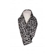 SassyChic Silk Scarf - Animal Print