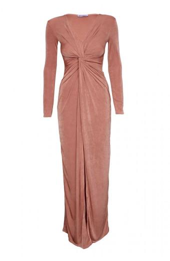SassyChic Jasmine Dress - Dusty Pink
