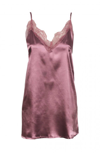 SassyChic Satin Pyjama Slip Dress