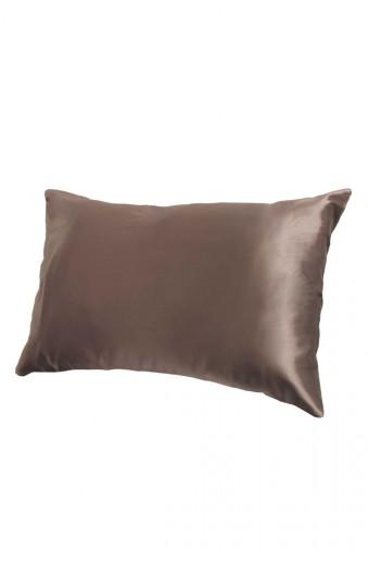 SassyChic Satin Pillow Case - Taupe