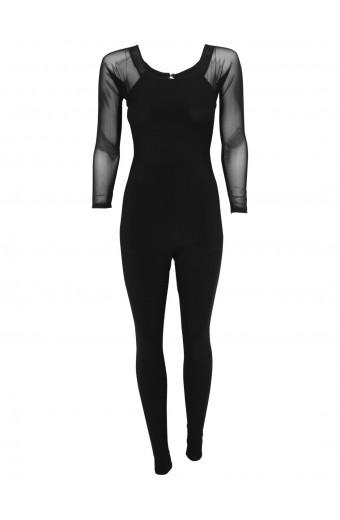 SassyChic Bella Jumpsuit - Black