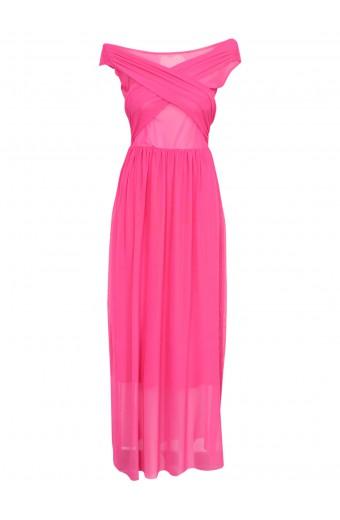 SassyChic Marilyn Dress - Cerise Pink