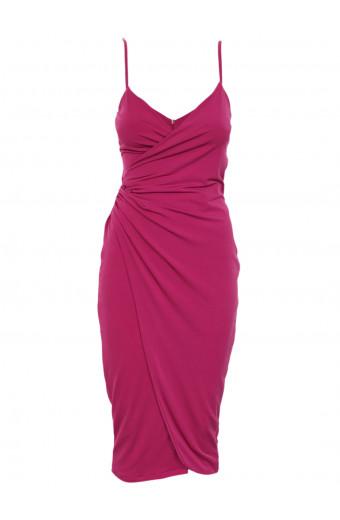 SassyChic Mishka Dress - Fuchsia