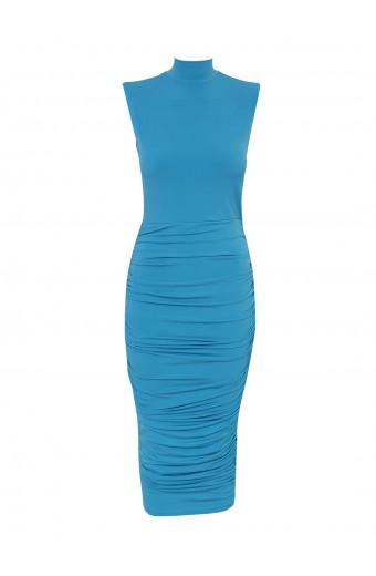 SassyChic Candice Dress - Candy Blue