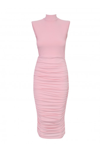 SassyChic Candice Dress - Candy Pink