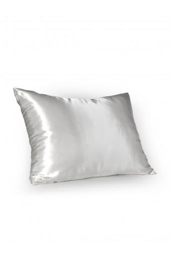 SassyChic Satin Pillow Case - White