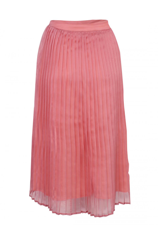 sassychic pleated skirt watermelon pink