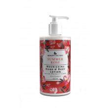 Beauty Factory Lux Summer Rose Hand & Body Lotion