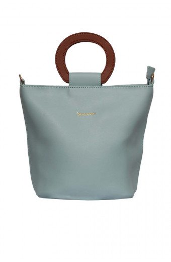 Blackcherry Carolina Tote - Cyan