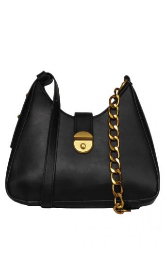 Blackcherry Alexandria Cross-Body Bag - Black