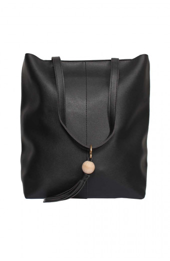 Blackcherry Florence Tote - Black