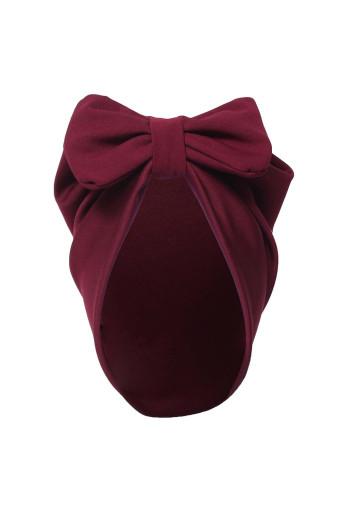 Buhle Turban Bow Cap - Maroon