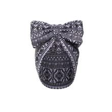 Buhle Turban Bow Cap - Monochrome