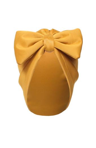 Buhle Turban Bow Cap - Mustard