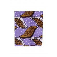 Buhle Headwrap - Purple & Khaki