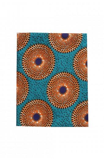 Buhle Headwrap - Teal & Orange
