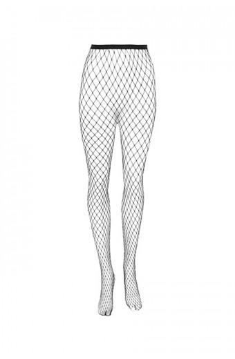 iAM Woman Fishnet Stockings - Medium Net
