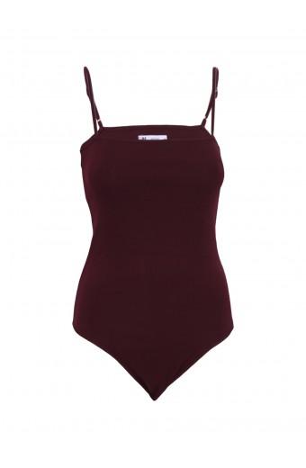 iAM Woman Missy Bodysuit - Maroon