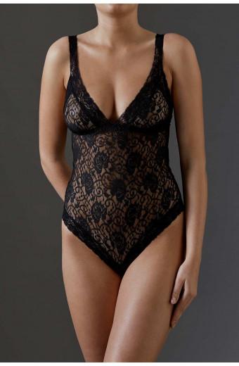 JSM Lingerie Caress Me Bodysuit - Black