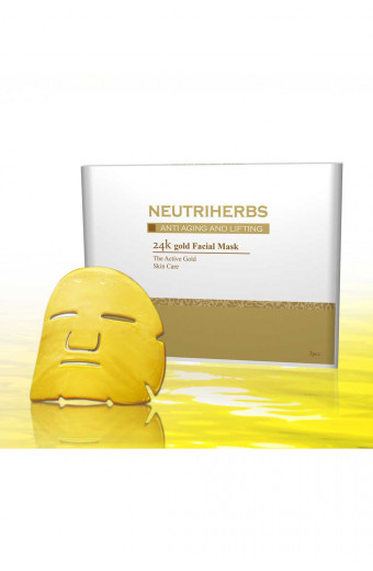 Neutriherbs 24K Gold Face Masque
