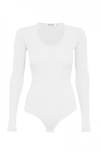 Paige Smith Bodysuit - White