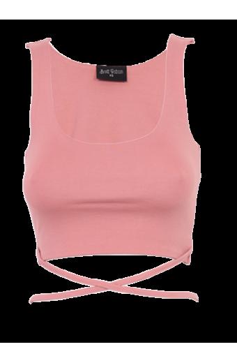 Brett Robson Kwezi Crop Top - Pink