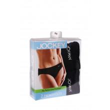 JOCKEY - 2 Pack French Cut No Panty Line Panties (Black)