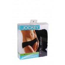 JOCKEY - 2 Pack Knicker Shorts No Panty Line (Black)