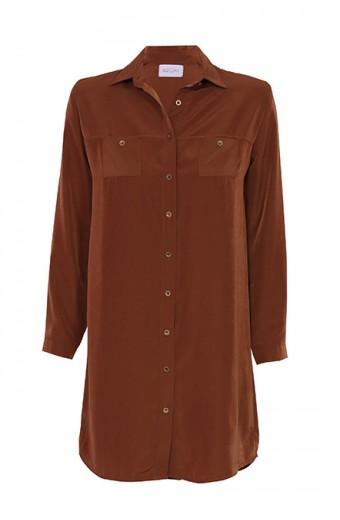 Tasha's Safari Dress - Copper