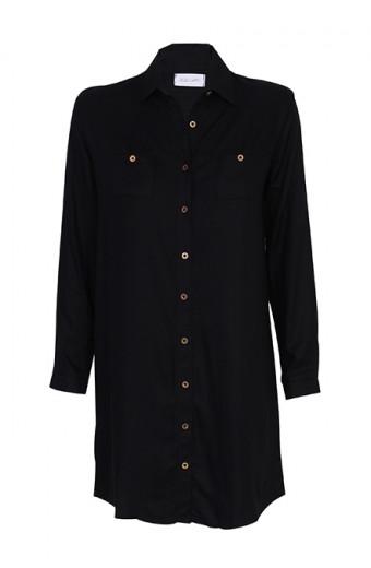 Tasha's Safari Dress - Black