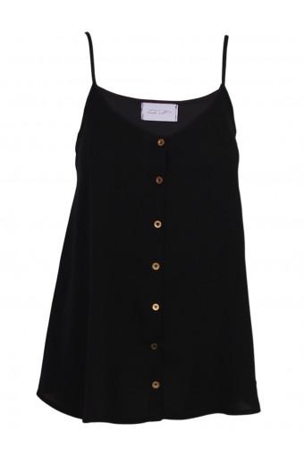 Tasha's Tuesday Vest - Black