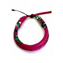 All Heart Tribal Print Choker - Pink