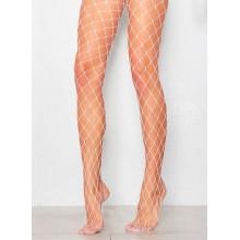 All Heart Fishnet Stockings - White