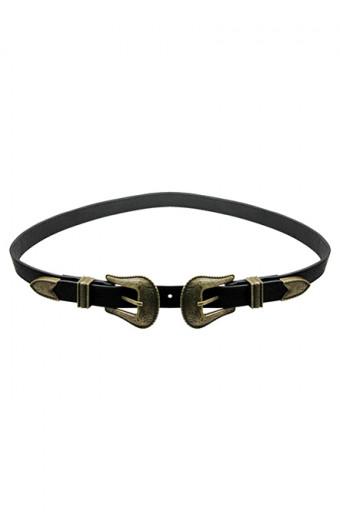 All Heart Cowgirl Belt - Brass