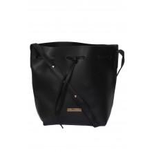 Blackcherry Alexa Bucket Bag - Black