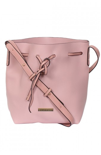 Blackcherry Alexa Bucket Bag - Dusty Pink