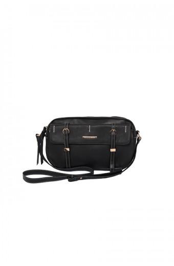 Blackcherry Cross-body Bag - Black