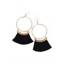 Artinmywardrobe Tassel Earrings - Black
