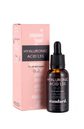 Standard. Beauty Hyaluronic Acid 1.5% Serum