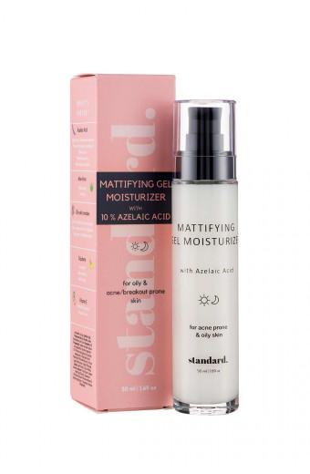 Standard. Beauty Mattifying Gel Moisturiser with 10% Azelaic Acid